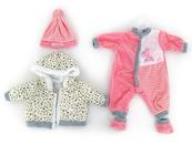 Ubranko dla lalki bobas 45cm kurteczka 494886