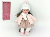 Lalka dziewczynka zima z dźwiękiem 40cm w pudełku 526242 ADAR