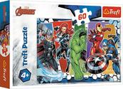 Puzzle 60el Niezwyciężeni Avengersi Disnez Marvel 17357 Trefl