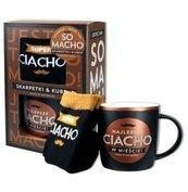 Zestaw kubek + skarpetki So Macho-Najlepsze Ciacho