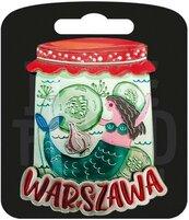 Magnes I love Poland Warszawa ILP-MAG-A-WAR-27