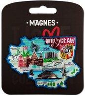 Magnes I love Poland Wrocław ILP-MAG-A-WR-27