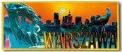 Magnes I love Poland Warszawa ILP-MAG-C-WAR-04