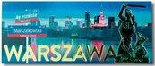 Magnes I love Poland Warszawa ILP-MAG-C-WAR-06