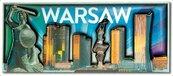 Magnes I love Poland Warszawa ILP-MAG-C-WAR-03