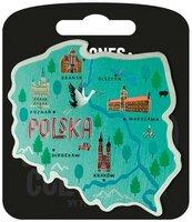 Magnes I love Poland Polska ILP-MAG-A-PL-03