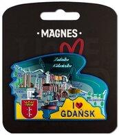 Magnes I love Poland Gdańsk ILP-MAG-A-GD-35