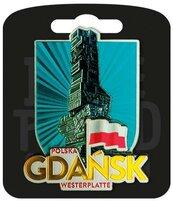 Magnes I love Poland Gdańsk ILP-MAG-A-GD-23