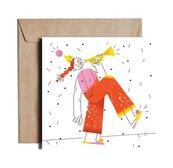 Karnet kw Happy Ginger Girl JST08