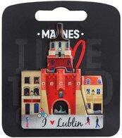 Magnes I love Poland Lublin ILP-MAG-C-LUB-11