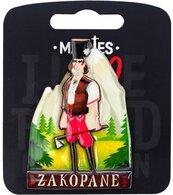 Magnes I love Poland Zakopane ILP-MAG-C-ZAK-10