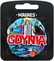 Magnes I love Poland Gdynia ILP-MAG-C-GDY-24