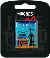 Magnes I love Poland Katowice ILP-MAG-C-KAT-08
