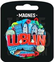 Magnes I love Poland Lublin ILP-MAG-C-LUB-02