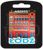 Magnes I love Poland Łódź ILP-MAG-C-LOD-07