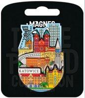 Magnes I love Poland Katowice ILP-MAG-C-KAT-05