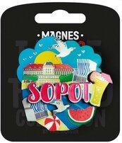 Magnes I love Poland Sopot ILP-MAG-C-SOP-07