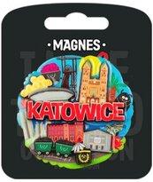 Magnes I love Poland Katowice ILP-MAG-C-KAT-04