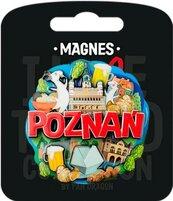 Magnes I love Poland Poznań ILP-MAG-C-POZ-03