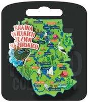 Magnes I love Poland Mazury ILP-MAG-C-MAZ-06