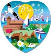 Magnes I love Poland Mazury ILP-MAG-C-MAZ-21