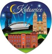 Magnes I love Poland Katowice ILP-MAG-C-KAT-24