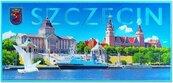 Magnes I love Poland Sczecin ILP-MAG-C-SZCZ-11