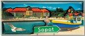 Magnes I love Poland Sopot ILP-MAG-C-SOP-01