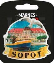 Magnes I love Poland Sopot ILP-MAG-A-SOP-02
