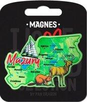 Magnes I love Poland Mazury ILP-MAG-A-MAZ-10