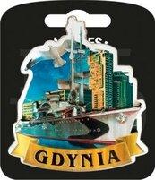 Magnes I love Poland Gdynia ILP-MAG-A-GDY-02