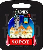 Magnes I love Poland Sopot ILP-MAG-D-SOP-17