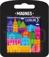 Magnes I love Poland Lublin ILP-MAG-B-LUB-07