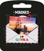 Magnes I love Poland Gdynia ILP-MAG-B-GDY-1