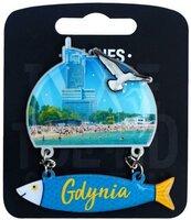Magnes I love Poland Gdynia ILP-MAG-D-GDY-25