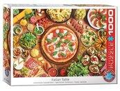 Puzzle 1000 Potrawy kuchni włoskiej