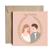 Karnet kw Happy Wedding ESZ02