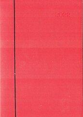 Kalendarz 2022 A4 Cross dzienny Czerwony