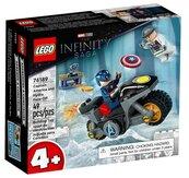Lego SUPER HEROES 76189 Kapitan Ameryka vs Hydra