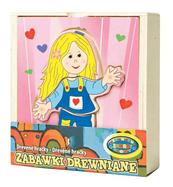 Układanka drewniana Dziewczynka. DROMADER