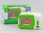 Kuchenka mikrofalowa mała na baterie w pudełku 410701