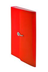 Teczka harmonijkowa PP z gumką (13) A4 czerwona