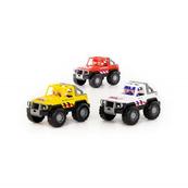Polesie 71125 Samochód- jeep Safari (NL) w siatce mix NR1 Cena za 1szt