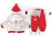 Ubranko dla lalki bobas 45cm, kurteczka 482753 ADAR