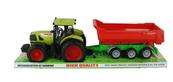 Traktor z przyczepą pod kloszem 1210606