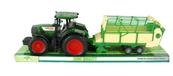 Traktor z przyczepą pod kloszem 1207692