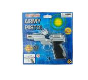 Pistolet metalowy na spłonkę blister 88366