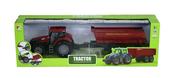 Traktor z przyczepą w pudełku 1233601
