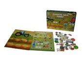 Gra magnetyczna Puzzle farma 8326-6