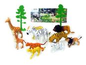 Zwierzęta dzikie 12 sztuk